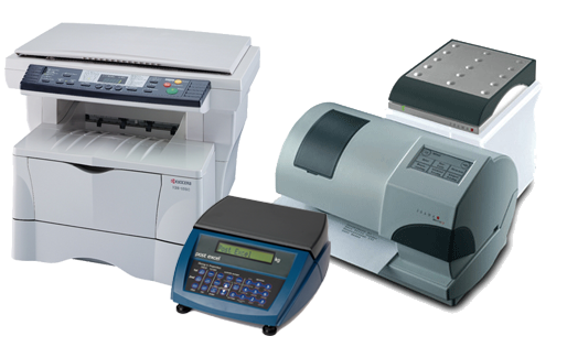 Franking Machines and Photocopiers